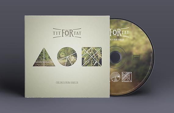 Création pochette groupe de musique Tit For Tat