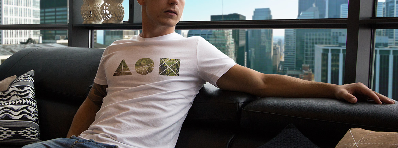 Création visuel Tee shirt Tit For Tat